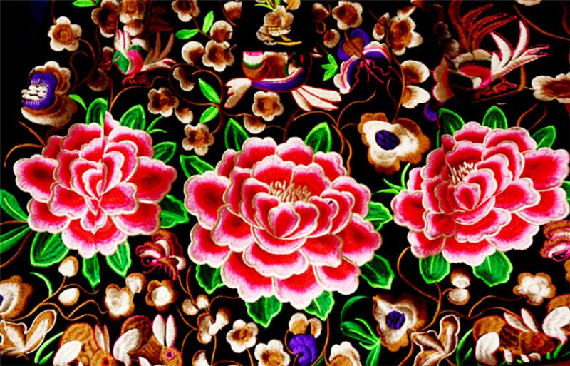 云南刺绣图片